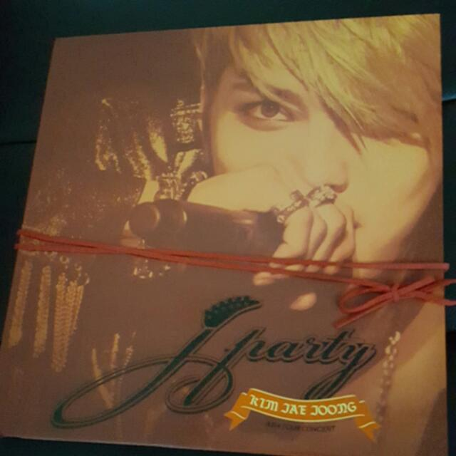 Out Of Print JYJ KIM JAEJOONG JParty Asia Tour Concert