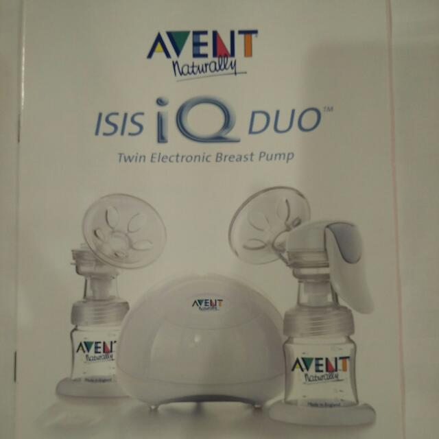 Philips Avent Isis iQ Duo Breast Pump
