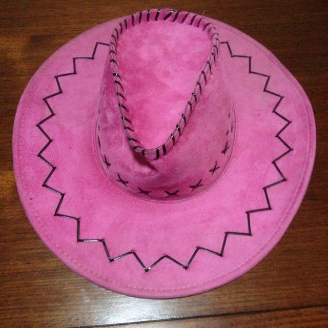 Pink Cowboy Hat