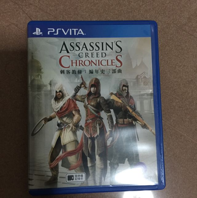 Ps Vita Assassin S Creed Chronicles Psvita Toys Games Video
