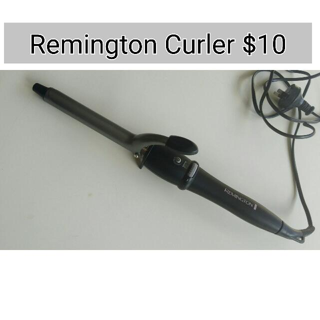 Remington Hair Curler