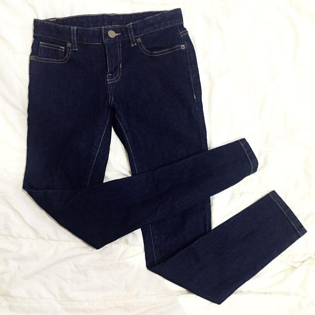 韓國SPAO 緊身丹寧牛仔褲