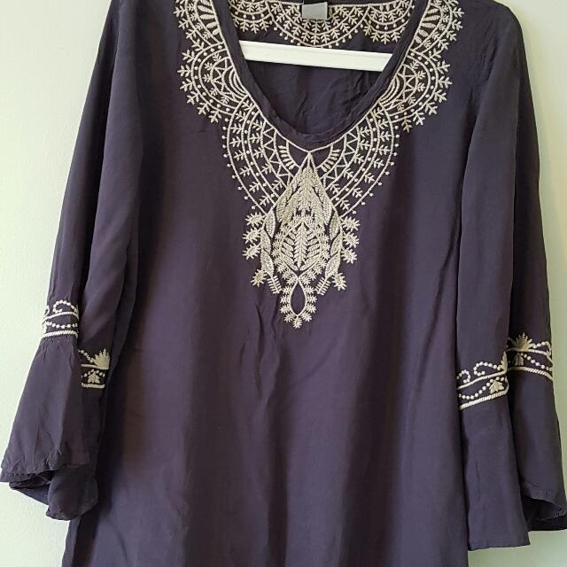 Swell Boho Bell Sleeved Tunic