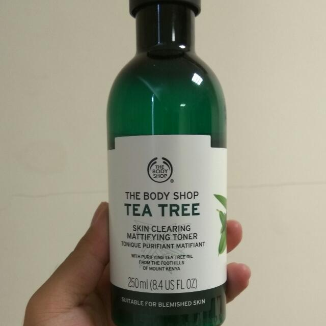 The Body Shop 茶樹調理水