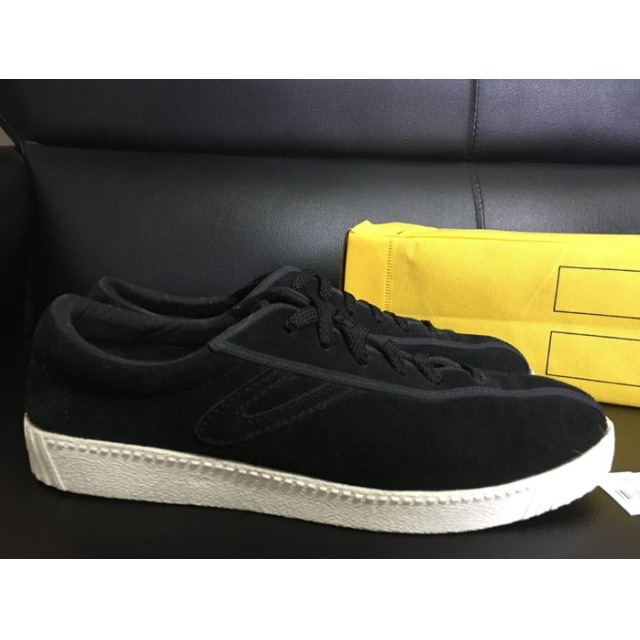 Tretorn X J.Press Nylite Suede Sneaker black 聯名限量