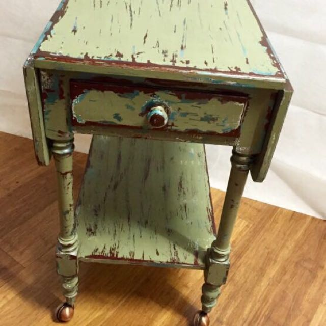 Vintage Hand Restored Dropside Table all reasonable offers considered!