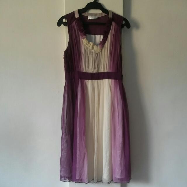 Violet / Purple Ombre Dress