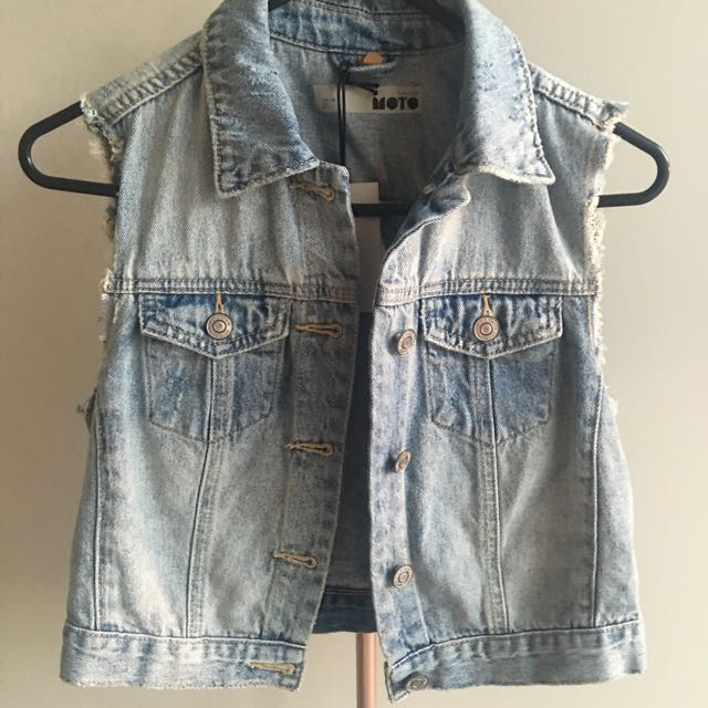 With Tags - Topshop 8/10 Denim Jacket
