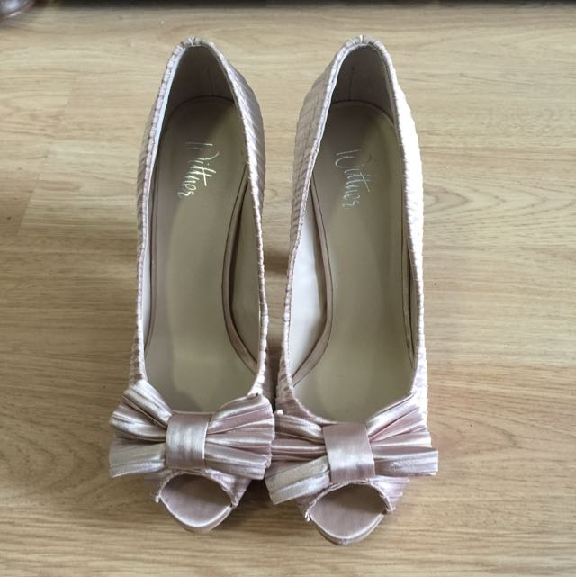 Wittner Party Heels Size 37 Colour nude