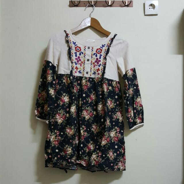 Yellowline Floral Blouse