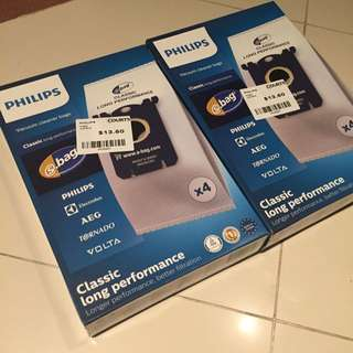 (only ONE More Left!) Philips Vacuum Cleaner Bags