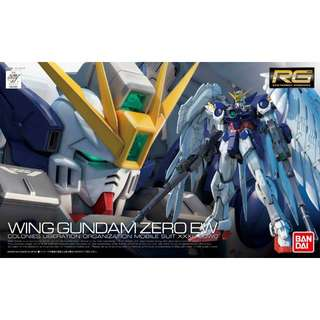 RG Wing Gundam Zero EW Gunpla Model Kits