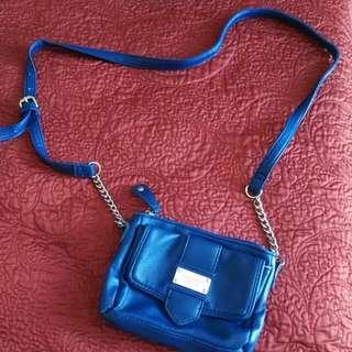 Nine West Navy Blue Bag
