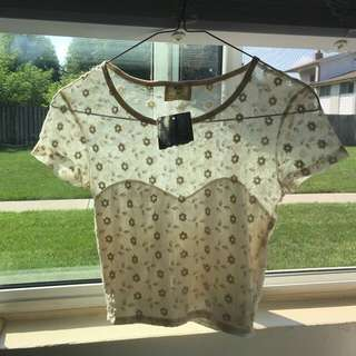 Urban Outfitters Daisy Crop Top