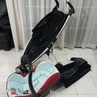 Quinny Zap 1.0 Stroller And Car Seat Maxi Cosi