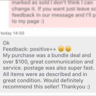 another happy customer🌟🌟