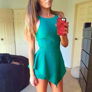 SIDE SHOW green Play Suit ** BRAND NEW
