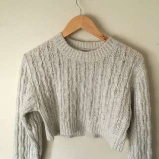 Cue Cropped Sweater