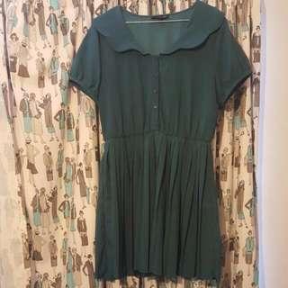 Green Dress, Australian Size 12
