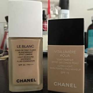 Chanel Vitalumiere Aqua Liquid Foundation
