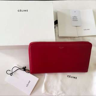 ✨全新真品✨ celine zipped multifunction wallet拉鍊長夾