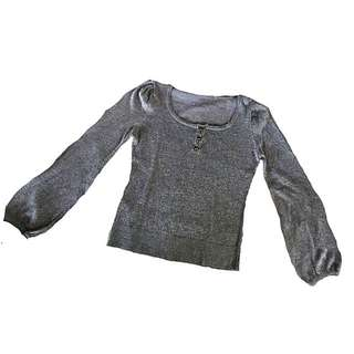 Silver gray long sleeves