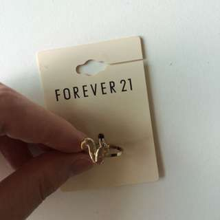 Forever 21 Squirrel Ring