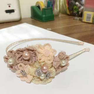 Hairband Flower Vintage