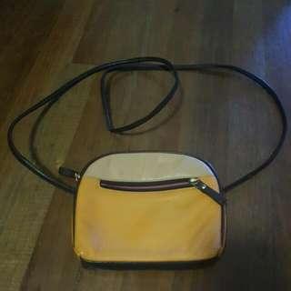 Leather Slim Handbag