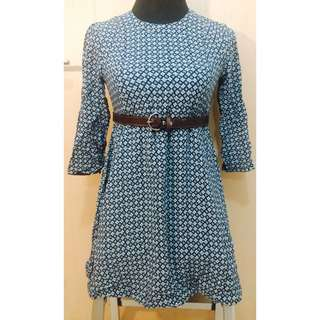 H&M Bluegreen Dress