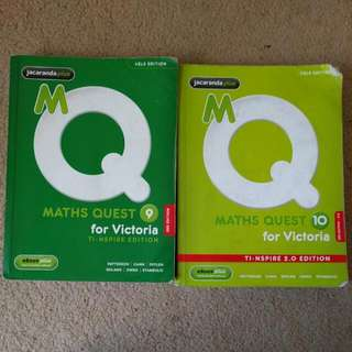 Maths Quest Year 9 & 10 Bundle
