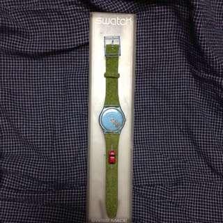 SWATCH 收藏版 草皮錶