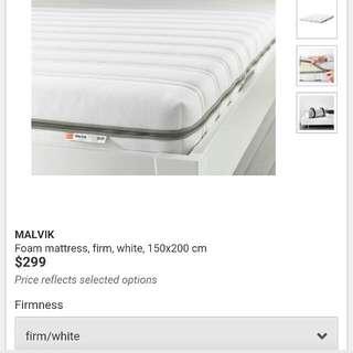 IKEA Malvik Queen Size Mattress 150cm X 200cm