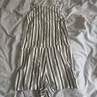 Backless Jumpsuit Size 10
