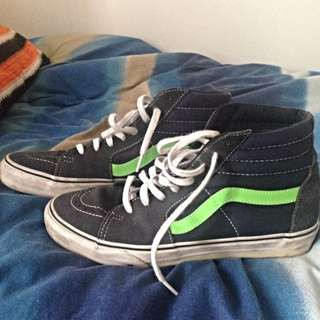 Old School High Top Vans