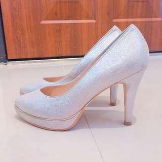Kokko 真皮跟鞋👠👒💄💋-婚禮必備