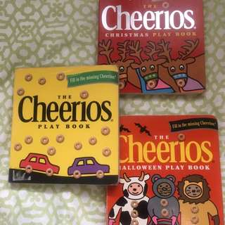 Cheerios Play books (lot of 3 board books)