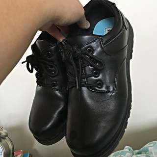 Kmart Leather Shoes (can Be Used By Nursing Students For Clinical Placement)
