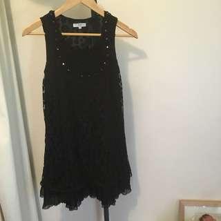 New Look Black Lace Dress