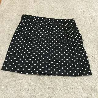 F21 Polka Dot Skirt
