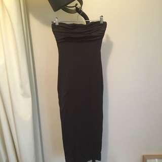 Kookai Knee Length Bandeau Dress