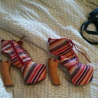 Jeffrey Campbell Size 7 Very Good Condition