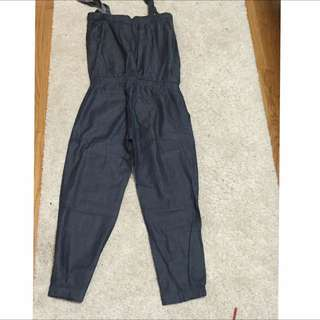 Urban Outfitter Jean Jumpsuit-size M
