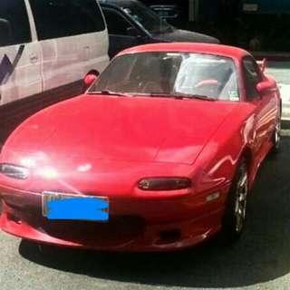 96 mazda miata A1 condition, manual,convertible , 62t km Mileage only