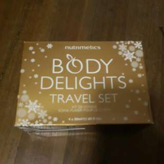 Nutrimetics Travel Set Body Delights