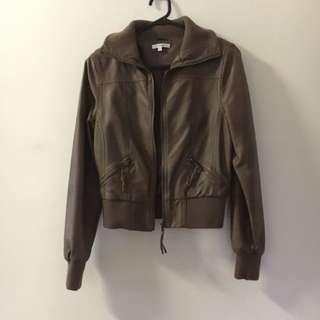 Valleygirl Brown Leather Jacket