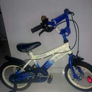 Children's Bicycle With Balancing Wheels