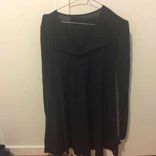 Mesop Black Dress