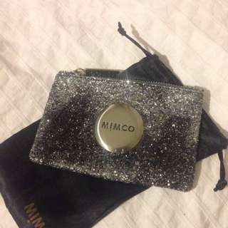 AUTHENTIC MIMCO POUCH WITH DUSTER BAG