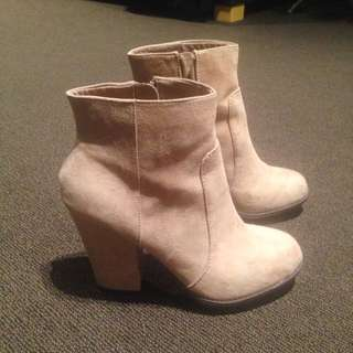 ZARA Camel Boots